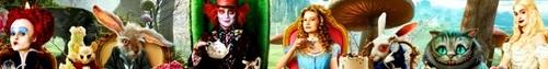 Alice In Wonderland Banner