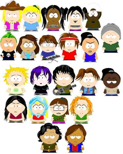 All Campers Drawn Like South Park