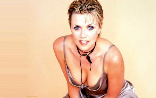 Samantha Carter Hintergrund entitled Amanda Tapping Wallpaers