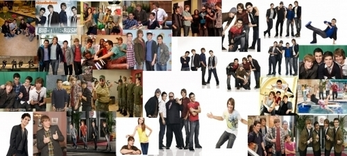 BIG TIME RUSH collage