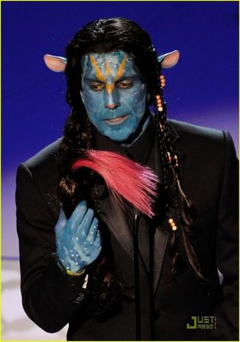 Ben Stiller -- 2010 Oscars 'Avatar' Spoof