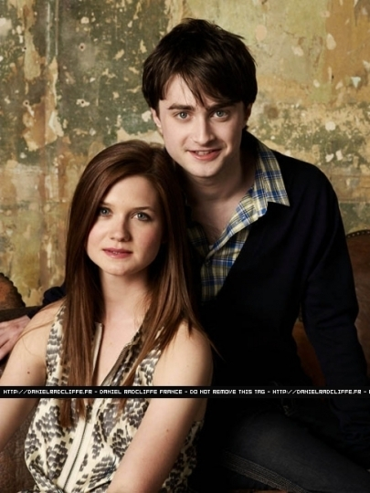 emma watson daniel radcliffe and rupert. Bonnie Wright Daniel Radcliffe