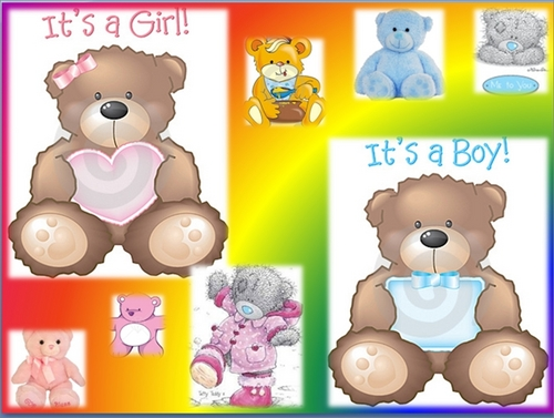 Boy and Girl Teddybears