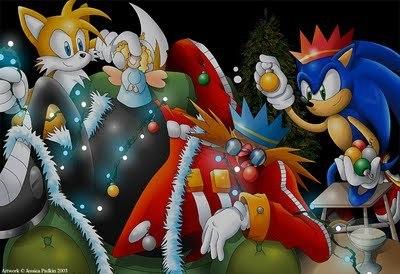 Weihnachten baum Eggman!