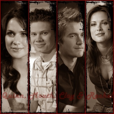 lances da vida wallpaper titled Clay, Quinn, Mouth & Rachel