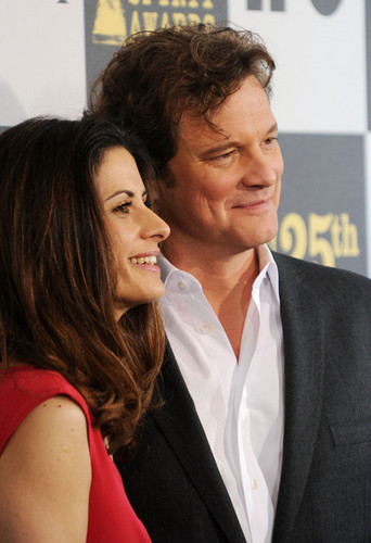 Colin Firth at the 25th Film Independent Spirit Awards