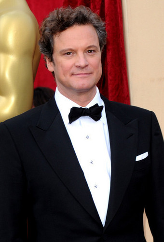 Colin Firth fond d'écran entitled Colin Firth at the 82nd Annual Academy Awards
