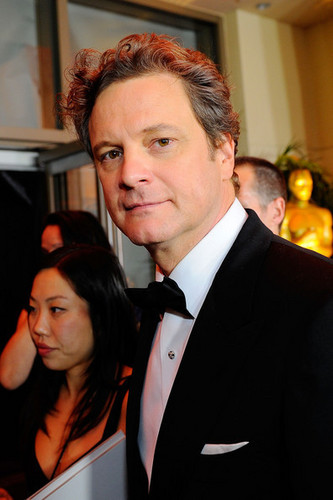 Colin Firth at the 82nd Annual Academy Awards