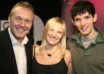 Merlin on BBC wallpaper titled Colin and Anthony
