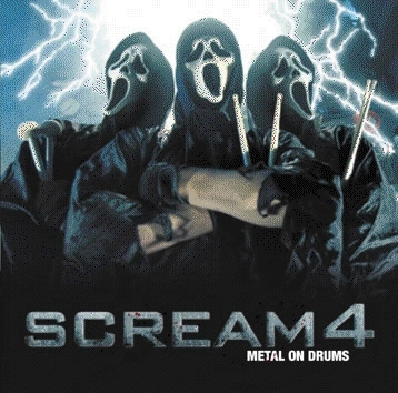 Horror فلمیں پیپر وال titled Cool Scream 4 Poster!