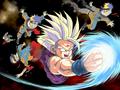 DBZ Gohan vs Naruto