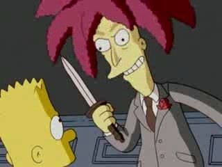 Evil Sideshow Bob