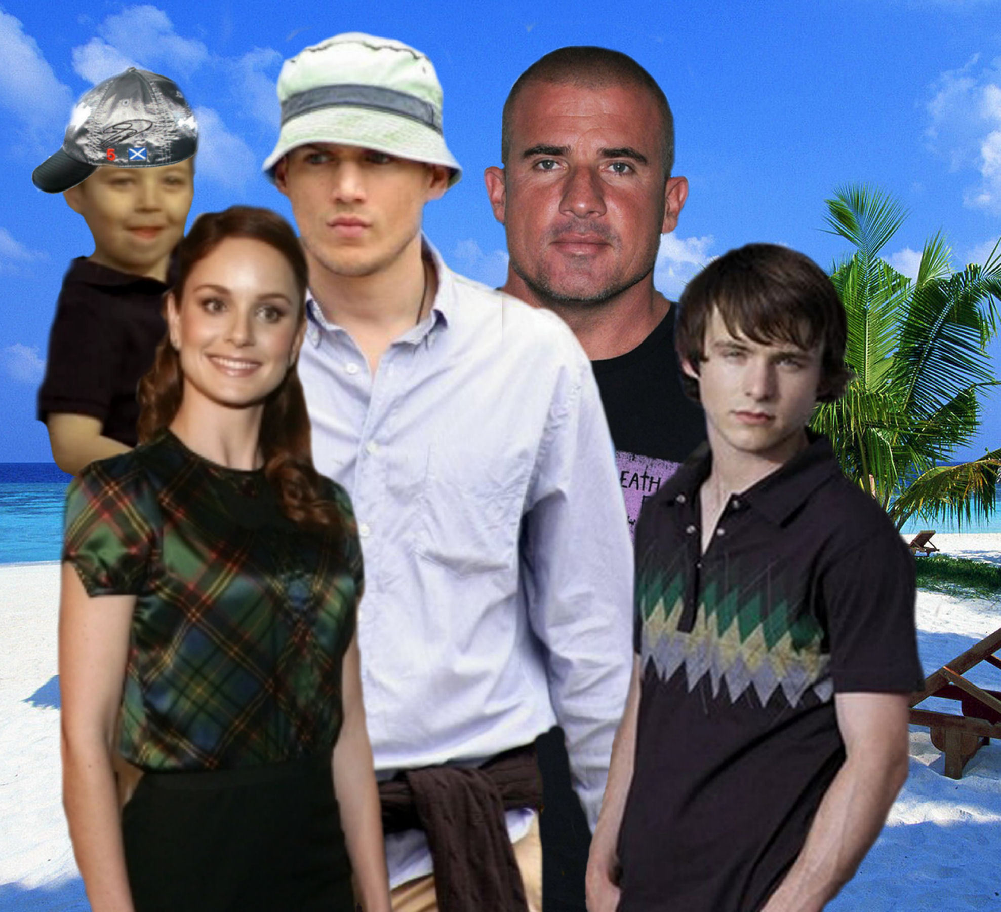 Family Scofield and Family Burrows