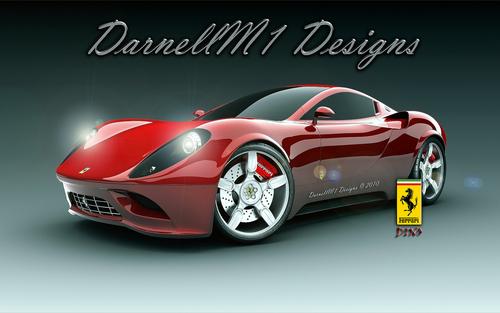 Ferrari Dino Concept Hintergrund