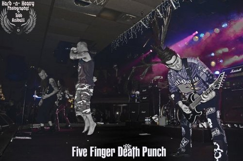 Five Finger Death パンチ