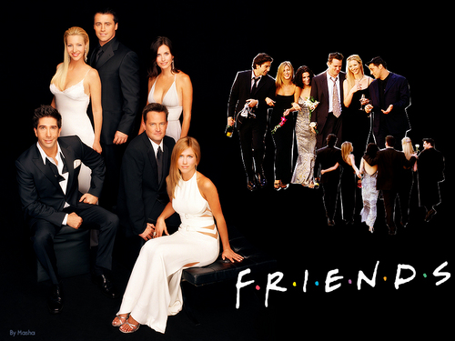 Friends - final season - friends Wallpaper