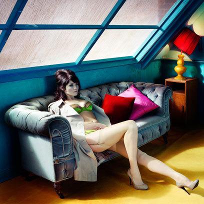 Gemma Arterton | GQ UK (April 2010)