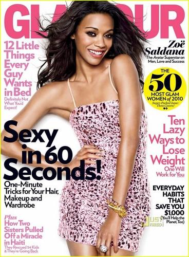 Glamour Magazine April 2010