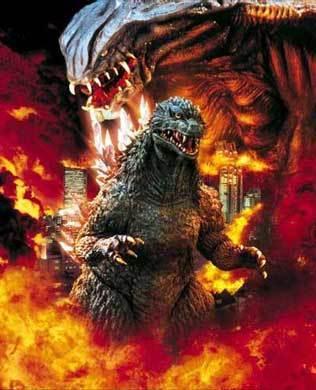 Godzilla wallpaper entitled Godzilla 2000
