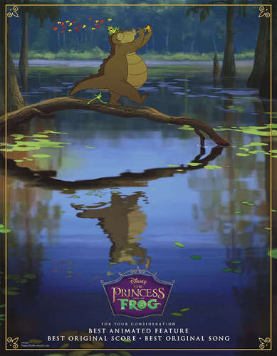 Good Luck at the Oscars Princess and the Frog!