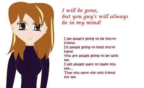 Goodbye my friends!
