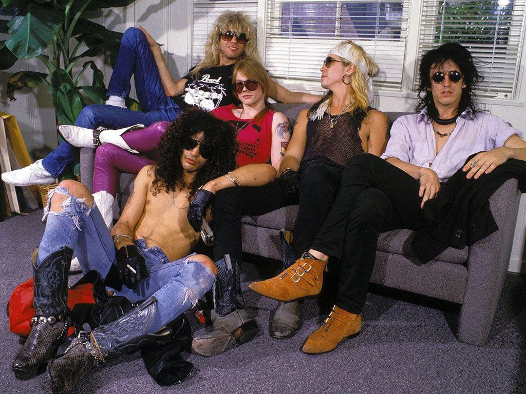 Guns N' Roses - Matérias, informações, notícias