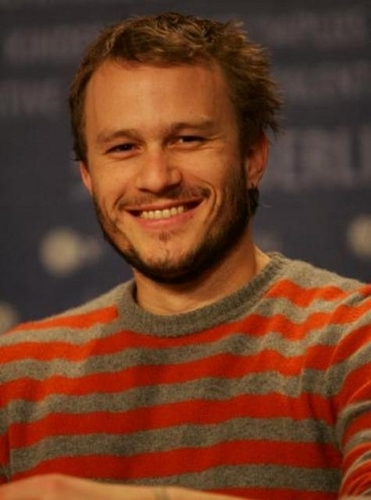 Heath Ledger's smile