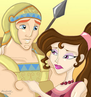 Hercules and Meg - disneys-couples Fan Art
