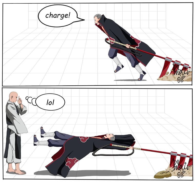Hidan charging!!! - Naruto Photo (10796056) - Fanpop