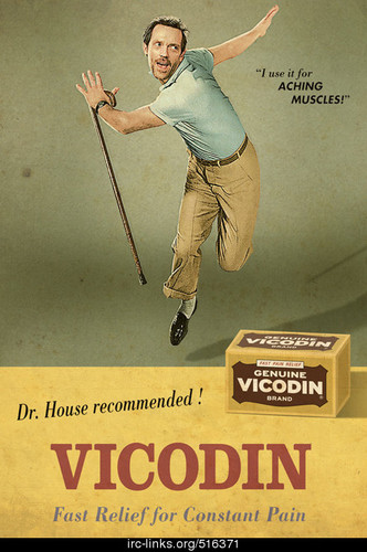 House <3 Vicodin