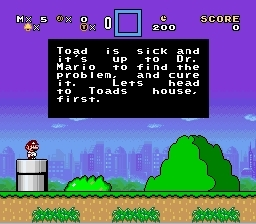 How Dr. Mario World begins