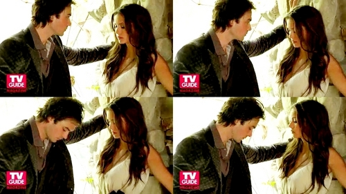 Ian Somerhalder e Nina Dobrev wallpaper called Ian and Nina picspam