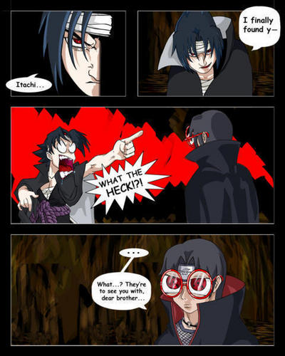 Itachi's glasses XD