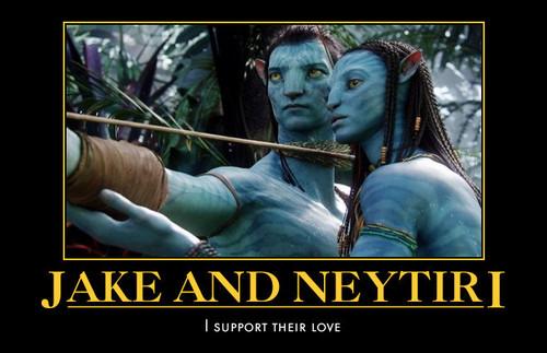 Jake and Neytiri