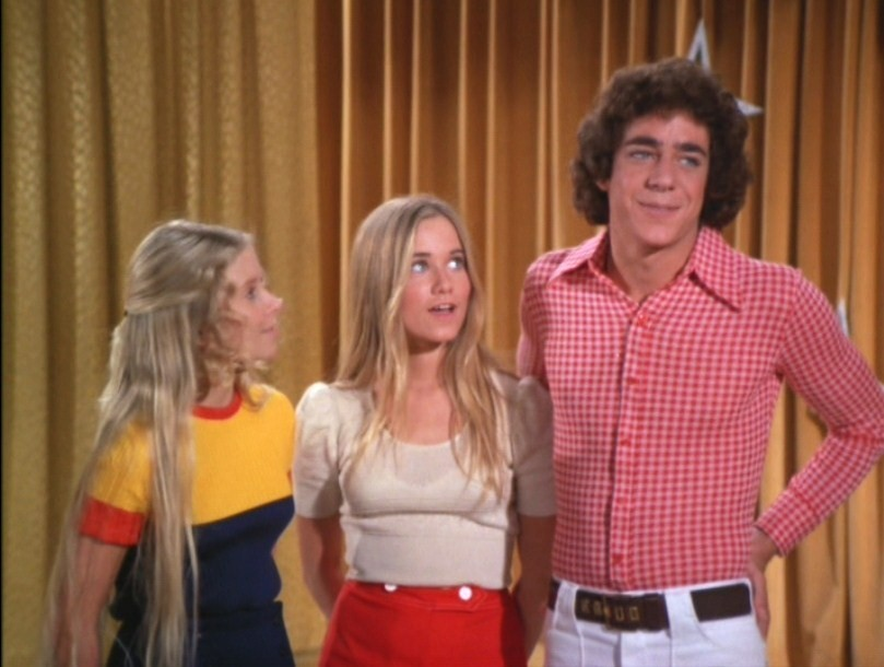 The Brady Bunch Jan, Marcia & Greg