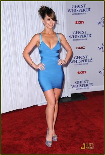 Jennifer @ Ghost Whisperer 100th episode celebration
