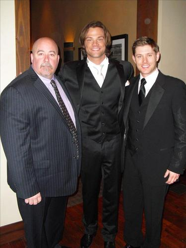Jensen Ackles wallpaper entitled Jensen and Clif at Jared's Wedding
