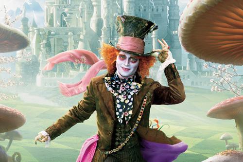 Johnny Depp In Alice In Wonderland 3D