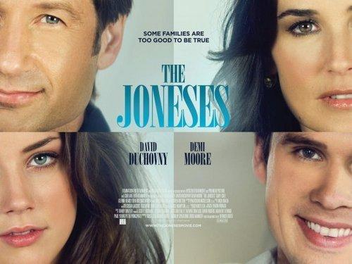 Joneses UK poster