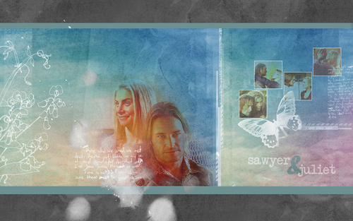 Dr. Juliet Burke wallpaper titled Juliet & Sawyer