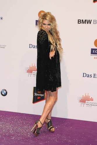 ke$ha ECHO Awards in Berlin