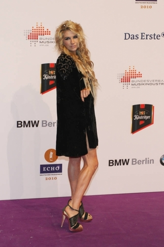 Ke$sha ECHO Awards in Berlin