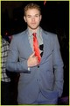 Kellan Lutz on Armani Exchange Party (25.02) - twilight-series photo