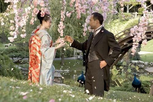 Ken Watanabe in Memoirs of a Geisha
