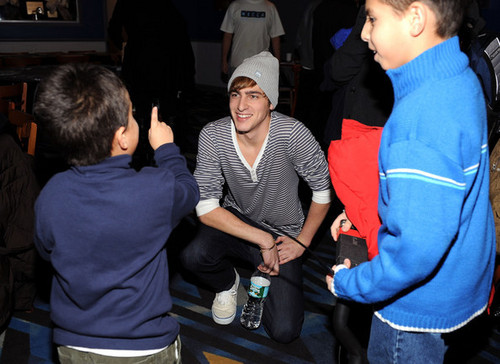Kendall and kid