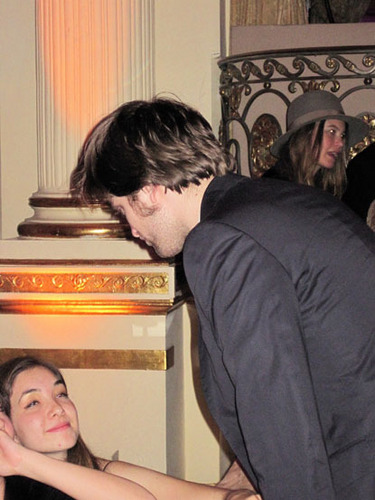 Kristen Stewart and the Pattinson Family at the 'Remember Me' After Party