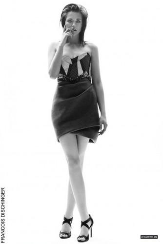 Kristen Stewart's Beautiful Elle Style Awards Portrait