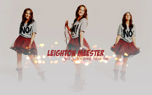 Leighton Meester wallpaper