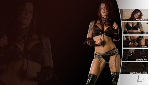 "Amy ""Lita"" Dumas wallpaper entitled Lita"