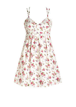 Livia Floral Dress - teen-fashion Photo
